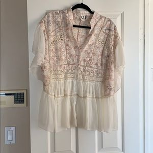 Anthropologie blouse, NWOT, size L
